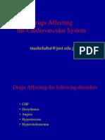 Drugs Affectingcardiovascular System1