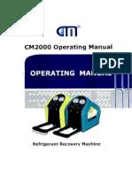 Recuperador Refrigerante Cm2000 Manual Uso