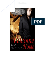 Steel City Vampires Welcome Home - L. Shannon