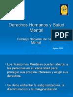 Derechos Humanos y Salud Mental