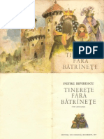 Tinerete Fara Batrinete - Petre Ispirescu