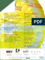 July 2012 Events & Activities Calendar