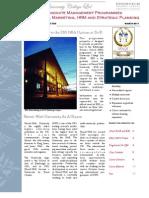 MBA Programme Prospectus 2012