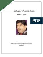Iranian Agents Behzad ALISHAHI