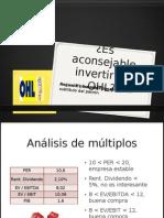 Analisis de OHL