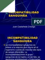 Incompatibilidad Sanguinea