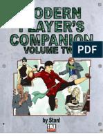 D20 Modern - Rulebook - D20 Modern Player's Companion Volume