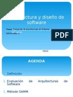 Evaluación de Arquitectura de Software ver 1