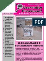 Observador Provincial - Junio 2012