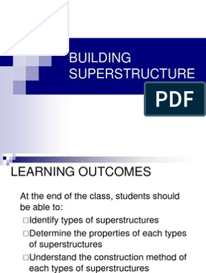 Building Superstructure | Roof | Wall
