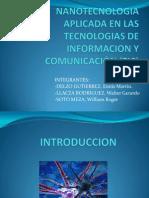 Nanotecnologia Aplicada en Las Tecnologias de Informacion y