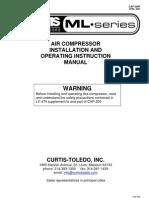 Curtis-Toledo Masterline Compressor Manual