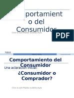 Comportamiento Del Consumido y Percepciones