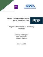 Informe Mapeo de Movimientos Sociales Peru