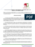 IU Parla Moción Comisión Desahucios Julio 2012