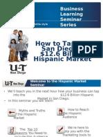 Tap Into the Hispanic Market 06-25-2012