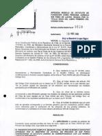 Estatuto de Fundación ( Chile )