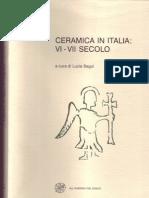 M. Puglisi-A. Sardella, Ceramica Locale in Sicilia Tra Il VI e Il VII Secolo d.C