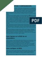 Bios Conceptos y Configuracion