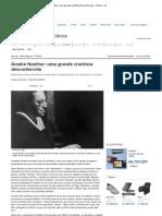 Amalie Noether_ uma grande cientista desconhecida - Ciência - iG