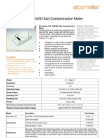 SCM 400 Salt Contamination Meter