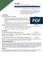 Resume EVE 2012