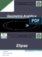 Elipse Geometria Analitica