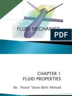 Chapter 1 Fluid Properties