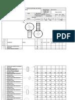 Hoja de Procesos Engrane Helicoidal