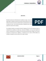 Trabajo de Analisis Clinico Creatinina