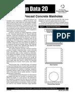 DD_20_Circular Precast Concrete Manholes