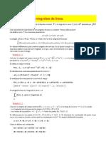 Integrales de Linea 1
