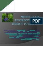 Mining & Its Environmental Impact to Nature