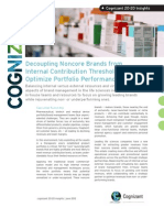 Decoupling Noncore Brands from Internal Contribution Thresholds to Optimize Portfolio Performance