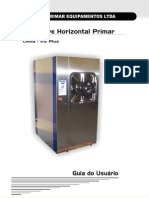 Manual Autoclave Horizontal