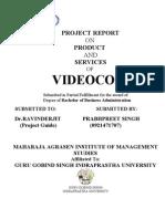 Videocon Report