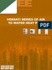 Versati Dc Inverter Heatpump Tsg