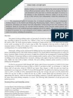 Report of Rigging Activity Worldwide
