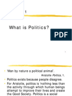 Politics as the Art of Government