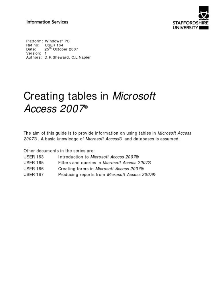user164_access_tables_tcm68-28392_tcm44-38444 | Microsoft Access | Computer  Keyboard