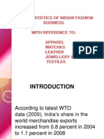 India's apparel trade