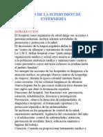 MISIÓN DE LA SUPERVISIÓN DE ENFERMERÍA