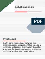 Modelos de Estimacion de software