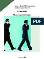 Alcatel 4645 Administration