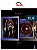 Preisliste STAUB 2012-13