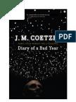 35534484 J M Coetzee Diary of a Bad Year