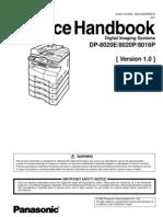Panasonic DP-8020e Service Handbook