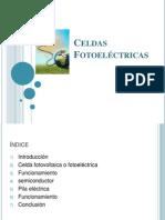 Celdas Fotoeléctricas