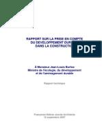 Rapport Jourda 2007