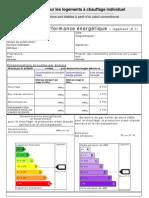DPE _modèle Logements